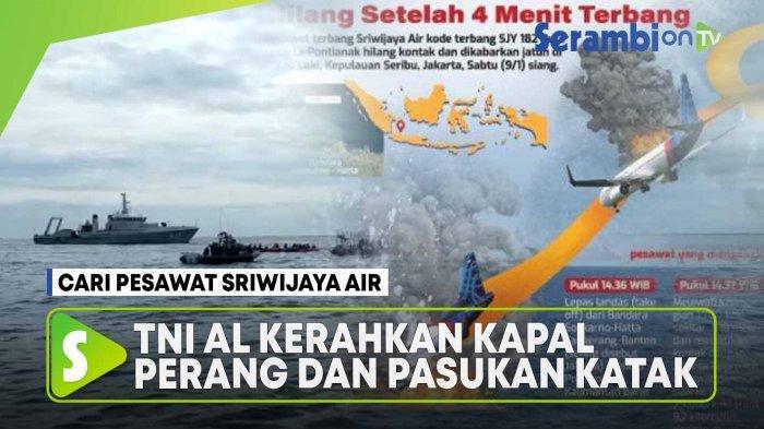 Kisah Saksi Mata saat Sriwijaya Air 182 Jatuh ke Laut, Ombak Naik: Kami Lagi di Tengah Laut