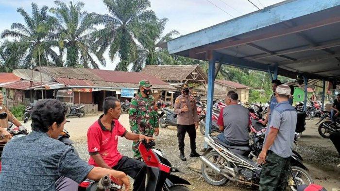 TNI dan Polri di Nagan Raya Ajak Warga Patuhi Protkes
