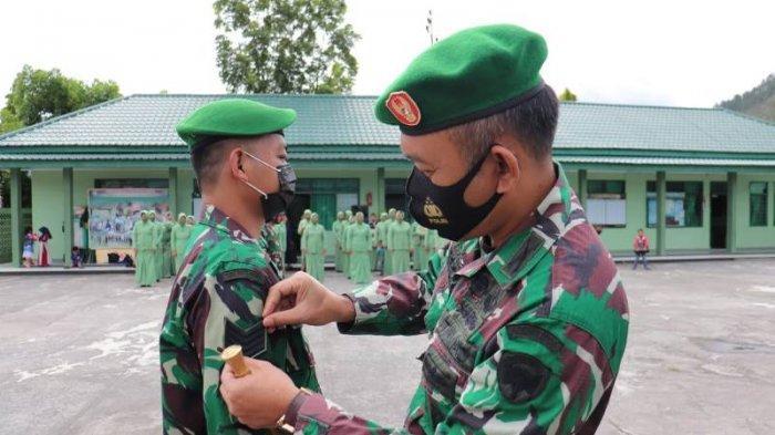 39 Anggota Kodim 0106/Aceh Tengah Naik Pangkat, Ini Rinciannya