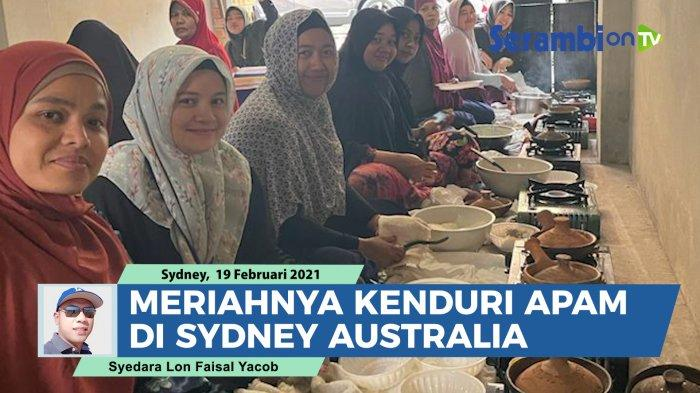 Warga Aceh di Australia Gelar Kenduri Apam