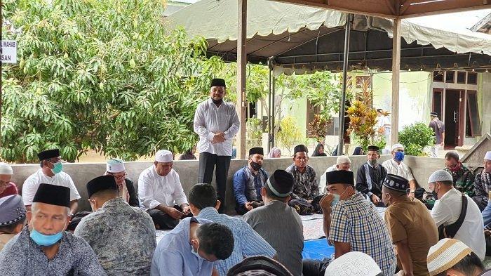 Toke Seum Pimpin Pejabat Pemko dan Pengurus Masjid Agung Langsa Takziah ke Rumah 2 Ulama Kharismatik