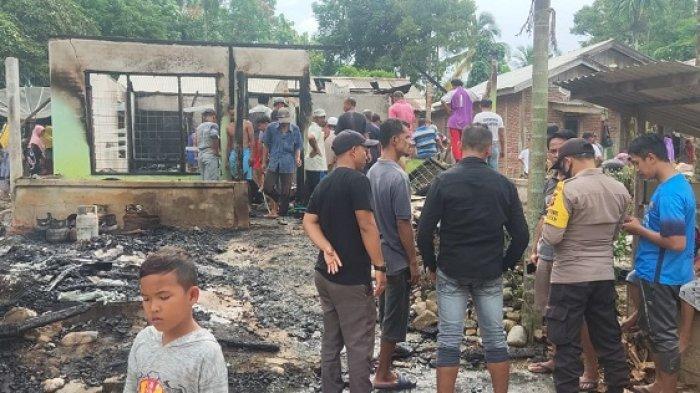 Toko Kelontong & Rumah Milik Warga Aceh Utara Terbakar di Siang Bolong, Api Diduga Berasal dari Ini