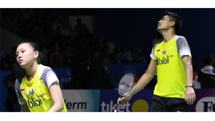 Hasil Perempat Final Indonesia Open 2019 - Owi/Winny dan Jonatan Christie Gagal ke Semifinal