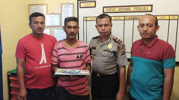 Terlibat Judi Togel, Polisi Tangkap Warga Mila Bersama Barang Bukti Uang Rp 6,9 Juta