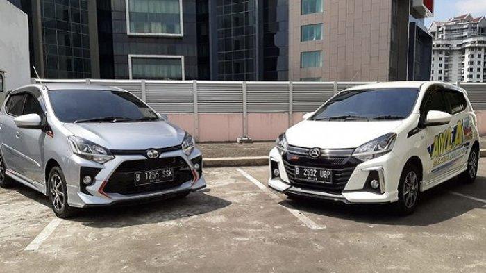 1,1 Juta Unit Mobil Murah Ayla dan Agya Sudah Bersilweran di Jalanan