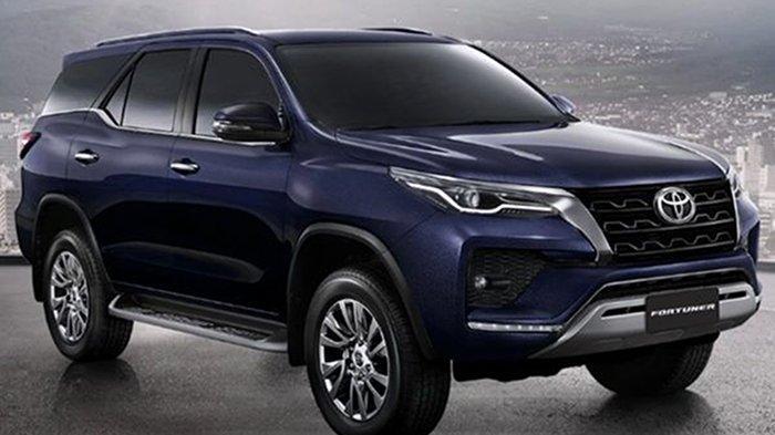 Toyota Uji Fortuner Facelift di India