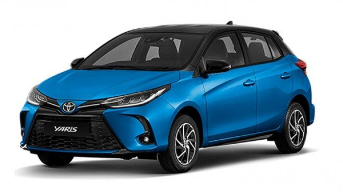 Toyota Yaris Facelift yang meluncur di Thailand