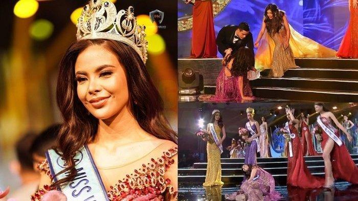 Finalis Ratu Kecantikan Tak Malu 2 Kali Jatuh Berguling, Saat Pengumuman Justru Jadi Juaranya