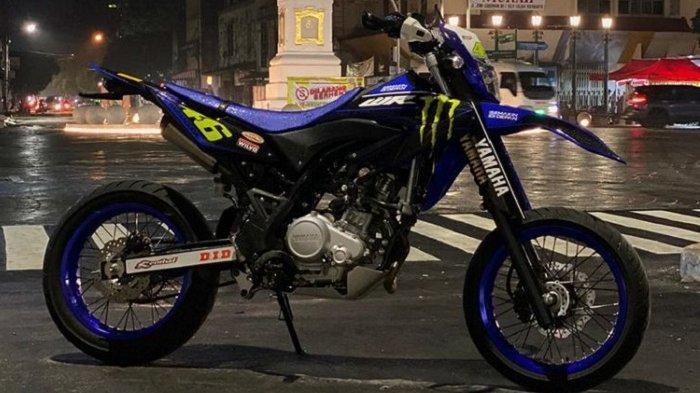 Motor Trail Yamaha WR 155 R Dimodifikasi Jadi Supermoto, Menjadi Sebuah Trend