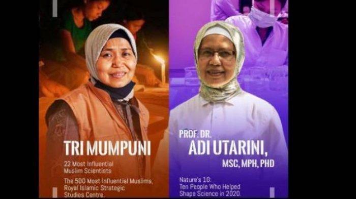 Adi Utarini dan Tri Mumpuni, 2 Perempuan Hebat yang Dipuji Presiden Jokowi,Berikut Profil Keduanya