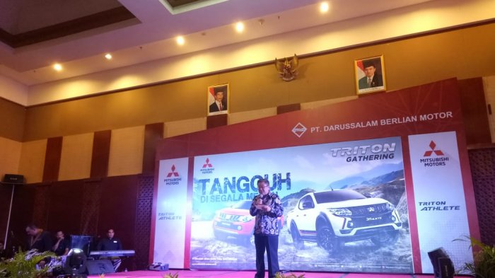 Mitsubishi Gelar Triton Gathering dengan Tema 'Tangguh Disegala Medan'