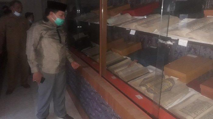 Anggota DPRA Harapkan Museum Alquran di Nagan Raya Dibenahi