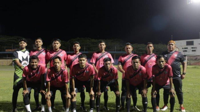 Diperkuat Zulfiandi, Mayor FC Jalani Laga Silaturahmi Trofeo di Stadion Lampineung, Begini Hasilnya