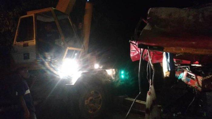 Truk Bermuatan 20 Ton Semen Jatuh ke Jurang Sedalam 12 Meter di Bener Meriah Sudah Ditarik