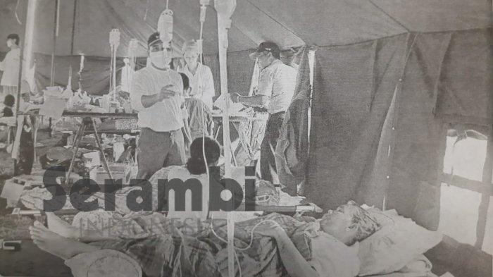 16 Tahun Tsunami Aceh - Pasien Korban Tsunami Perlu Dicuci Paru-paru