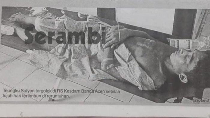16 Tahun Tsunami Aceh | Teungku Sofyan Terkubur Tujuh Hari, Tergulung Ombak dan Tertimpa Reruntuhan