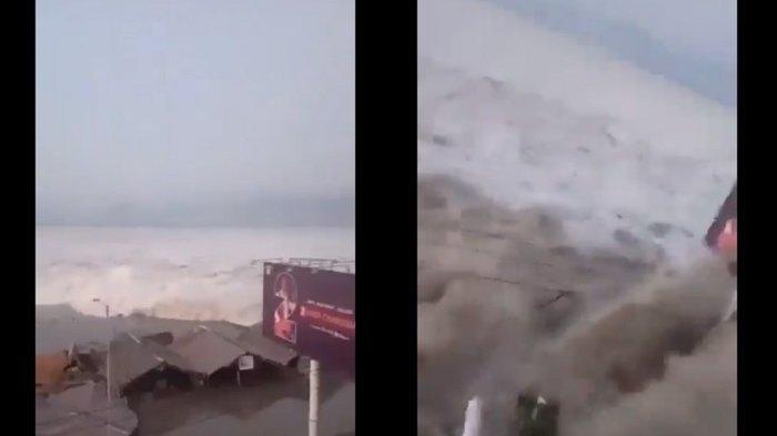 Tsunami Bervariasi, Tertinggi di Palu Capai 11,3 Meter, Terendah di Donggala Tercatat 2,2 Meter