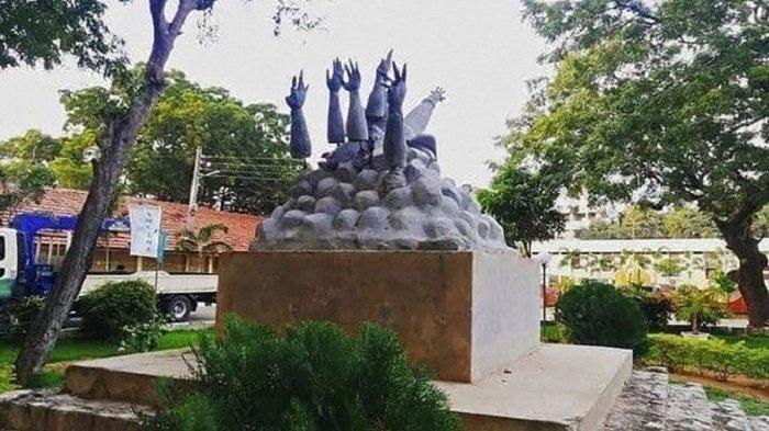 India Marah, Patung Peringatan Perang Tamil Dihancurkan di Sri Lanka