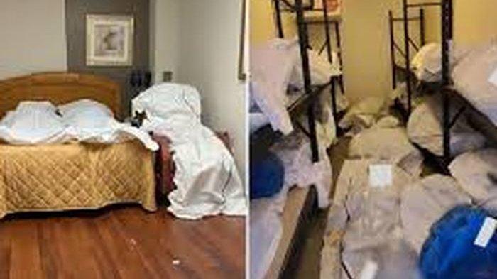 Kondisi Rumah Sakit di Amerika Serikat di Tengah Wabah Corona, Mayat-Mayat Ditumpuk Tidak Beraturan
