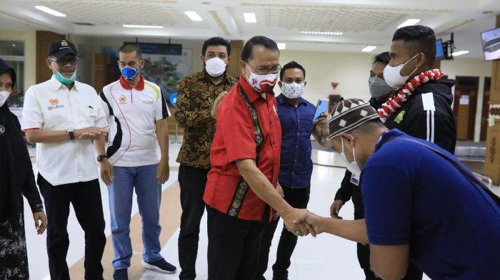 Selesai Bertanding di PON XX, Dara Phonna, Jihan, Andri Yanto dan 23 Atlet Aceh Tinggalkan Papua