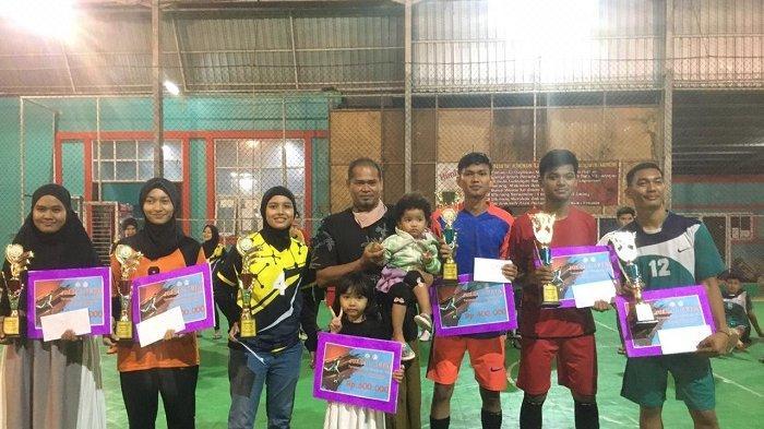 Prodi Penjas STKIP BBG Banda Aceh Gelar Turnamen Emka Futsal Cup