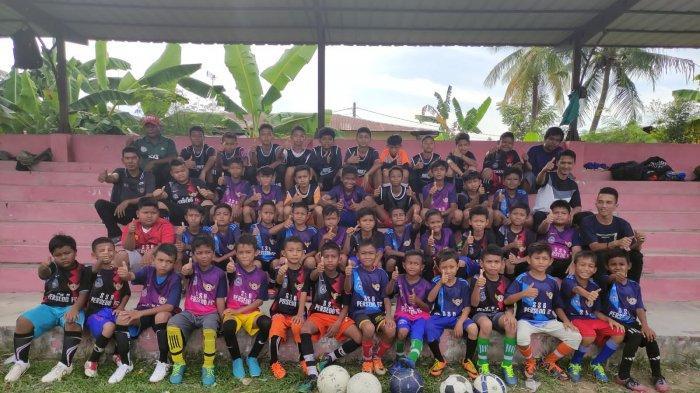 Meriahkan HUT RI, Gampong Sidorejo Kota Langsa Gelar Turnamen Usia Dini