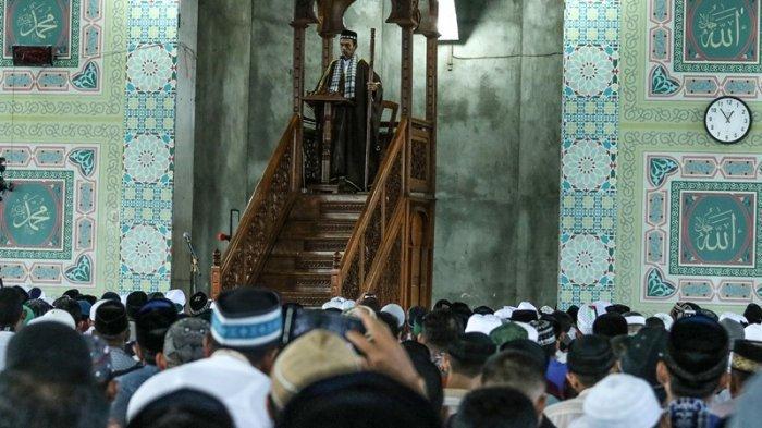 Ini Khatib Shalat Ied di Masjid Agung Baiturrahim Lhoksukon