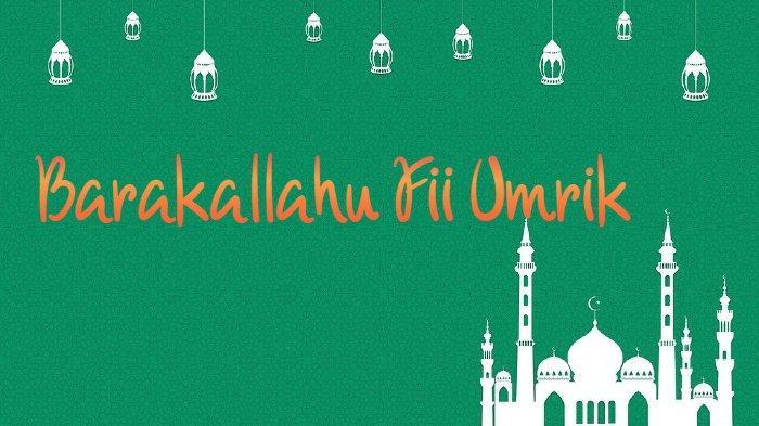 Barakallah Fii Umrik Berikut 9 Ucapan Selamat Ulang Tahun Islami Bahasa Arab Singkat Lengkap Artinya Serambi Indonesia