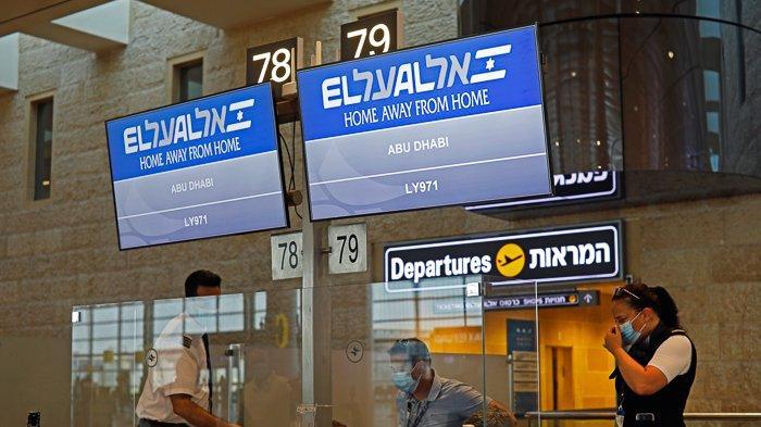 FOTO - Momen Bersejarah, El Al Pesawat Israel Pertama yang Mendarat di Abu Dhabi - uea-15.jpg