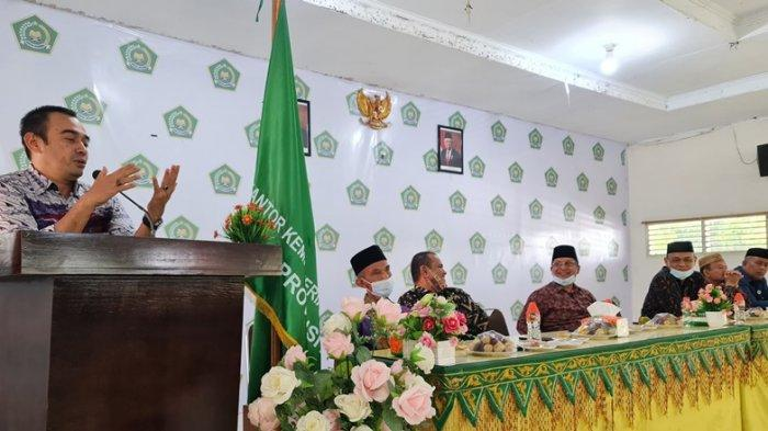 UIN Ar-Raniry Implementasikan Kerja Sama dengan Kanwil Kemenag Aceh ke Pidie, Terkait Mutu Madrasah