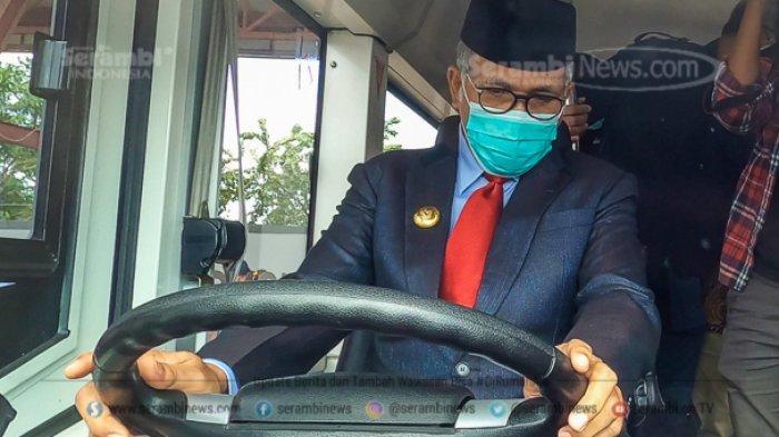 FOTO - Gubernur Nova Uji Coba Bus Listrik Pertama di Aceh, Hari Diuji Keliling Kota Banda Aceh - uji-coba-bus-listrik.jpg