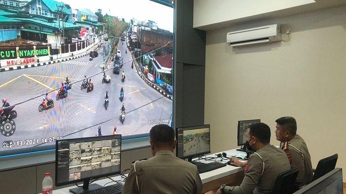 5.614 Pelanggaran Terjadi Sehari, Ditlantas Uji Coba CCTV di Banda Aceh