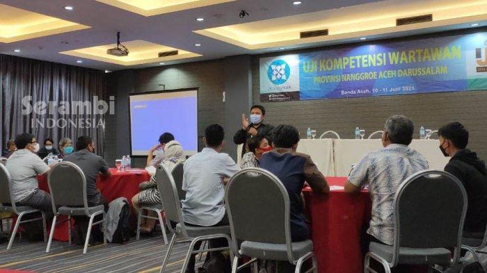 Uji Kompetensi Jurnalis di Banda Aceh, Dewan Pers: Banyak Persoalan Terkait Etika