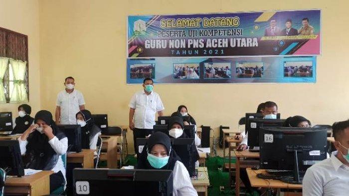 145 Guru Non-PNS di Aceh Utara Ikut Ujian Susulan Seleksi P3K, 26 Absen, Bagaimana Nasib yang Absen?