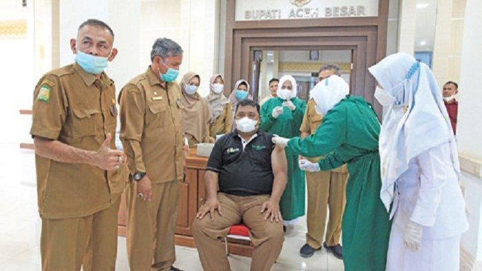 Pemkab Aceh Besar Kembali Gelar Vaksin Covid-19