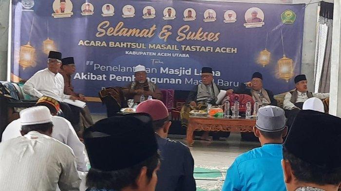 Ulama Aceh Bahas Hukum Membangun Masjid Baru yang Mengakibatkan Telantarnya Masjid Lama