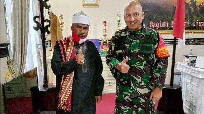 Dandim Aceh Besar Terima Kunjungan Pimpinan Dayah Markas Al-Ishlah Al-Azizah