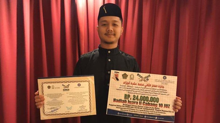 Wakil Aceh Juara II Nasional Musabaqah Hafalan Quran dan Hadis