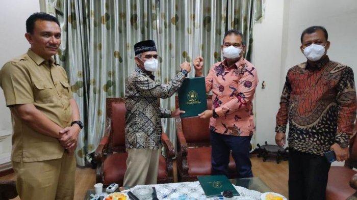 Rektor Umuslim dan Bupati Aceh Utara Cek Mad Sepakati Teken MoU Peningkatan Kemampuan ASN