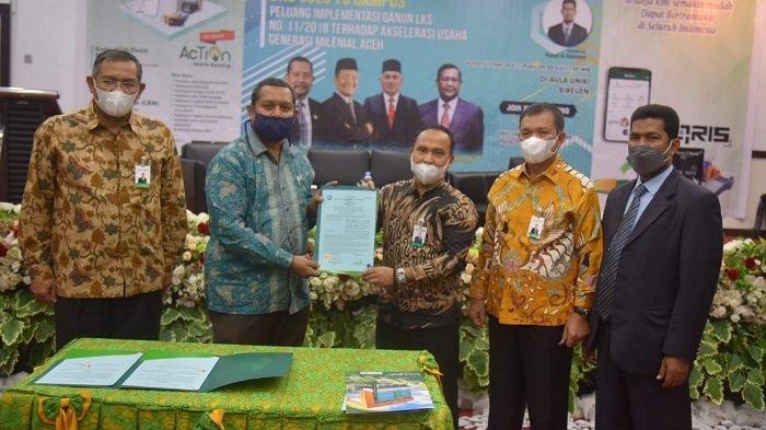 UNIKITandatangani MoU dengan Bank Aceh Syariah