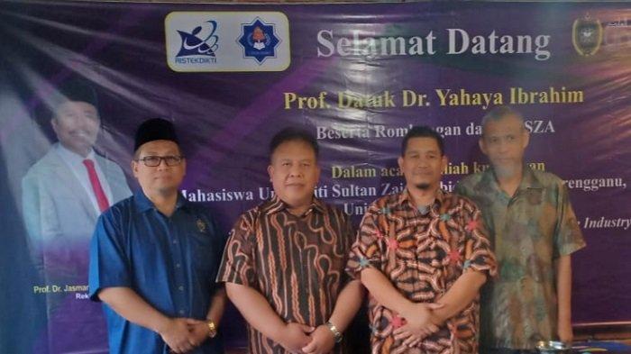 Mahasiswa UniSZA Malaysia Kunjungi UTU Meulaboh
