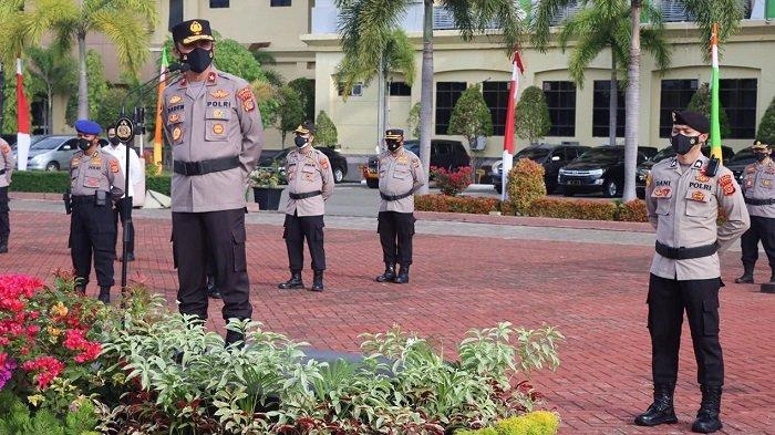 164 Polisi di Polda Aceh Naik Pangkat