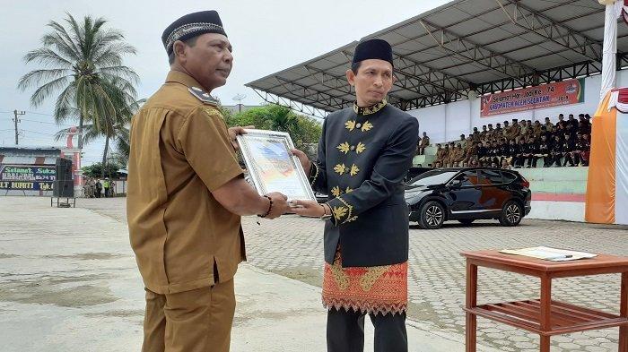 Plt Bupati Aceh Selatan Pimpin Upacara HUT ke 74 Kabupaten Aceh Selatan