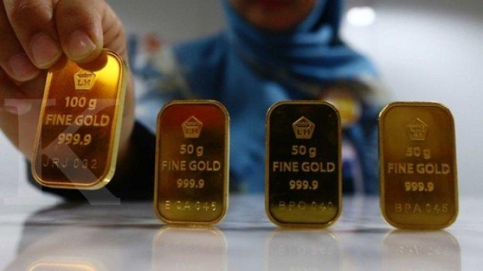 Harga Emas Batangan Antam Hari Ini Turun Lagi Rp 3.000, 1/2 Gram Jadi Rp 527.000, Ini Rinciannya