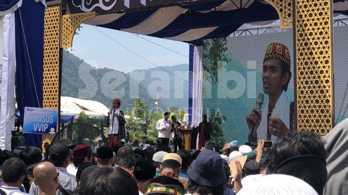 Ustadz Abdul Somad Sebut Ada Tiga Hikmah dari Musibah Tsunami Aceh dalam Ceramahnya di Peukan Bada