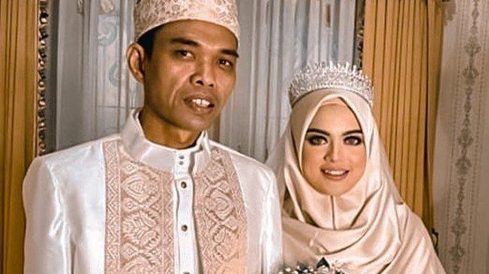 Riasan Wajah Istri Ustaz Abdul Somad, Fatimah Azzahra Jadi Sorotan di Hari Resepsi Pernikahan