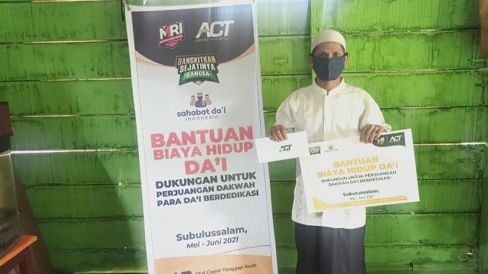 Sedih Melihat Masjid di Perbatasan Aceh Hanya Ada 1 Jamaah, Ustaz Ini Memilih Mengabdikan Diri