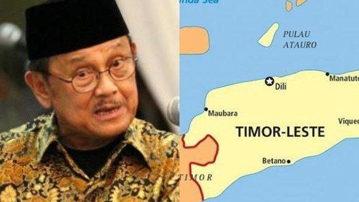 Ini Alasan Cerdas BJ Habibie Lepas Timor Leste Merdeka dari Indonesia