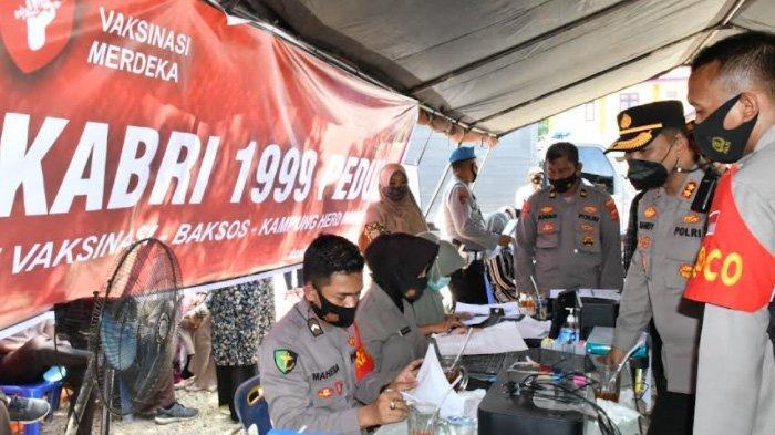 AKABRI 1999 di Aceh Timur Gelar Vaksinasi Merdeka