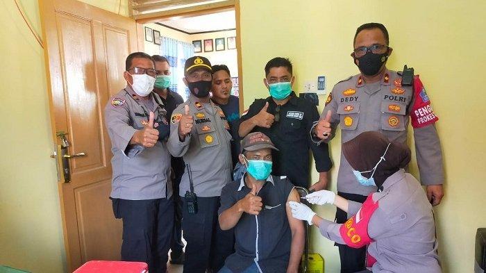 Penerima Bansos di Sigli Divaksin Saat Giat Vaksin Tamong Gampong, Puluhan Gagal Disuntik